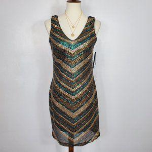 As U Wish Sequined Party Sleeveless Dress, NWT, 5